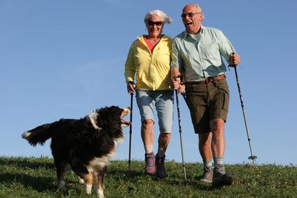 Artikelgebend ist die Fitness im Alter.