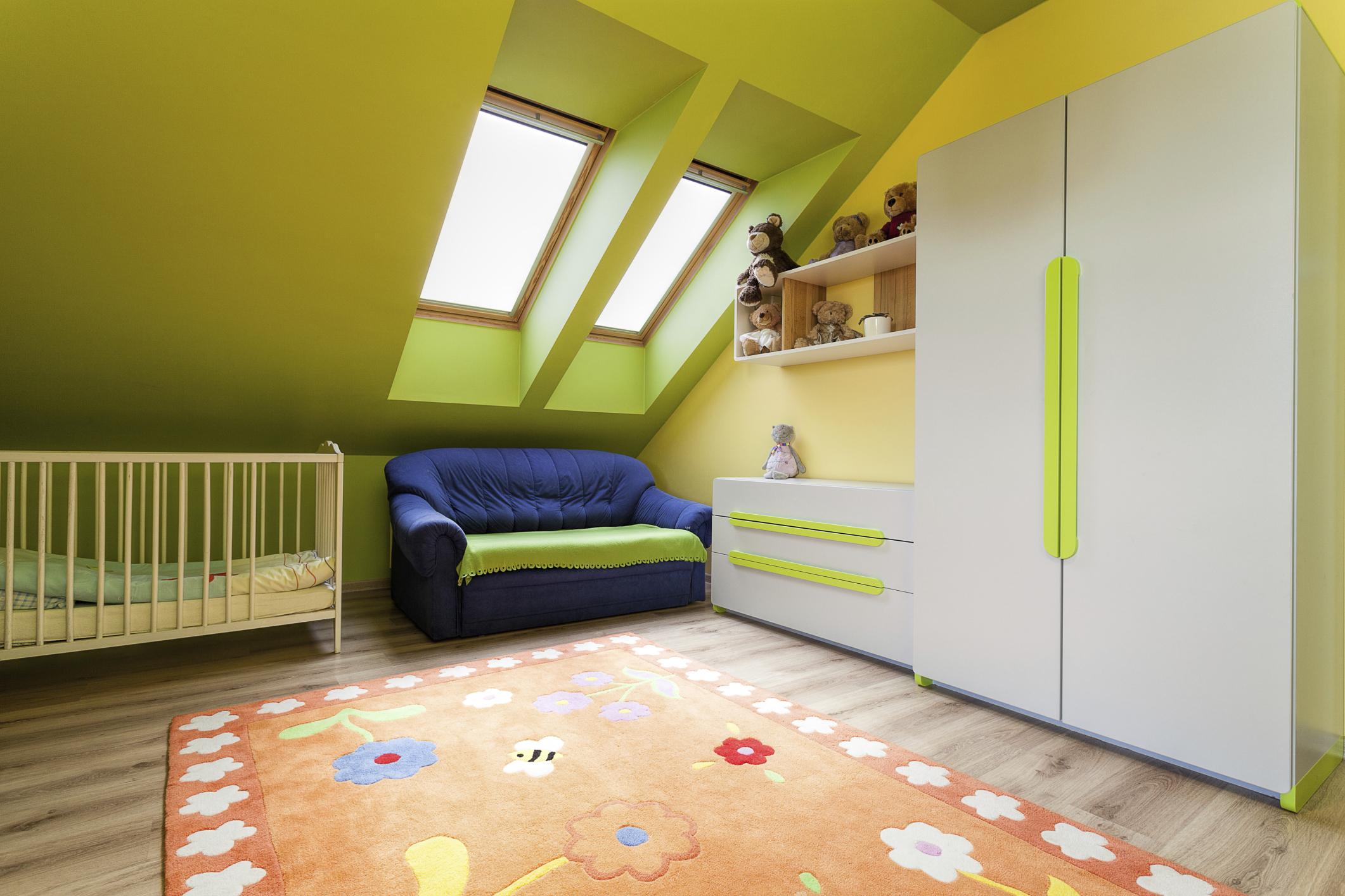 Artikelgebend sind Einrichtungstipps für das optimale Kinderzimmer.