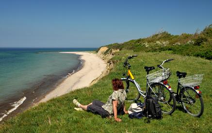 Fahrradtour an der Ostsee