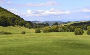 Inhalt des Artikels ist die Mitte Frankreichs: Die Auvergne.