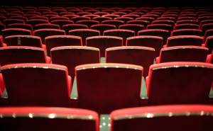 Sitze in einem Opernhaus