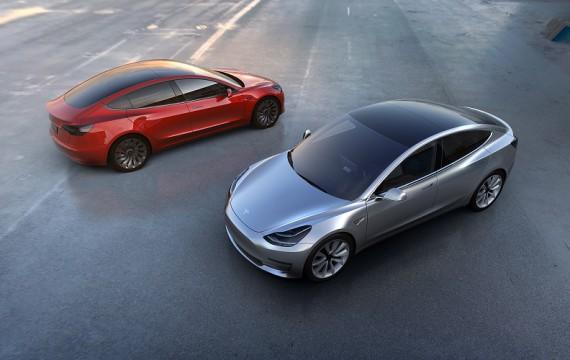 Riesenerfolg: Elektroauto Tesla Model 3 vorgestellt